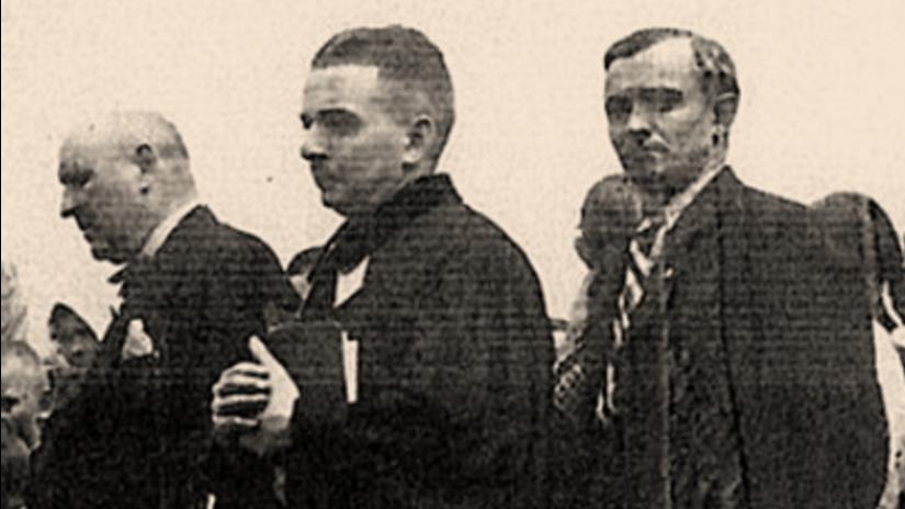 Na archívnej snímke kňaz Juraj Holčík.