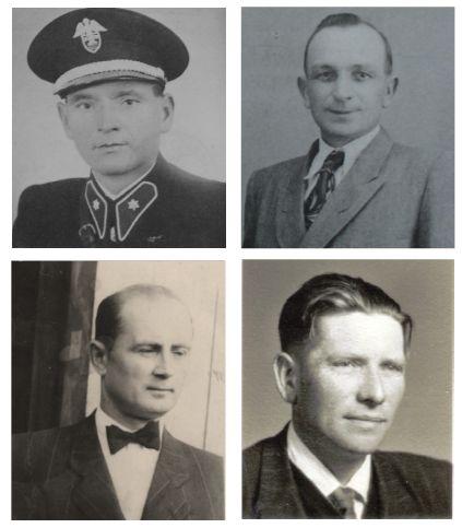 Na archívnychj snímkach Adam Bomba, Jozef Kisel, Štefan Tarcala a Vasiľ Kyjovský.