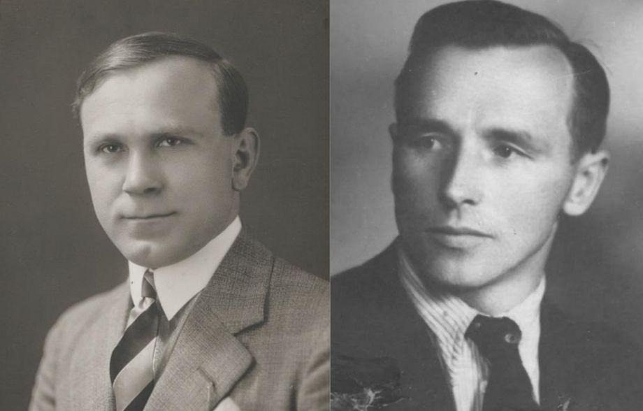 Na archívnej snímke Ľudovít Repáš a Ján Balciar.