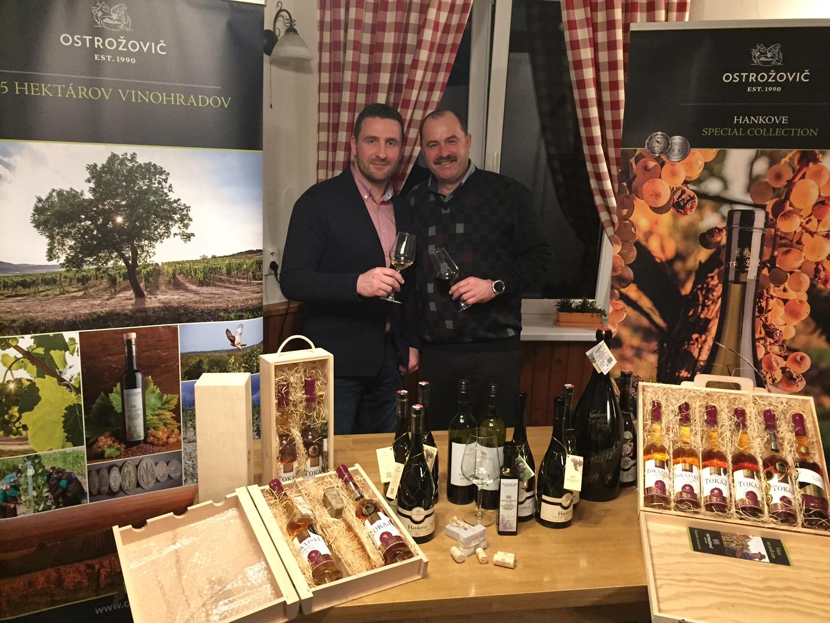 Michal nosil do Británie aj slovenské vína od svojho kamaráta Jara Ostrožoviča.