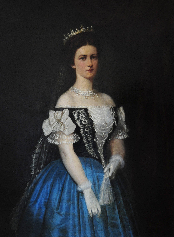 Na archívnej snímke portrét cisárovnej Alžbety Bavorskej – Sissi.