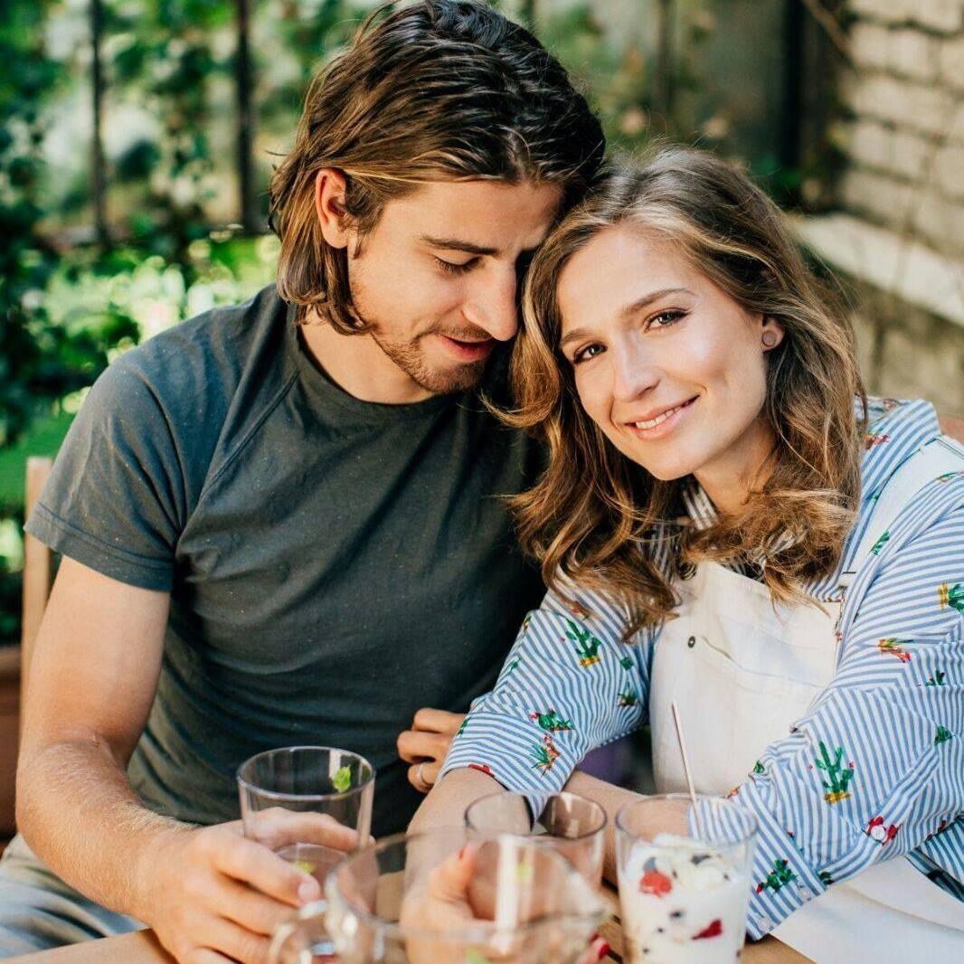 Peter a Katka v časoch zamilovanosti.