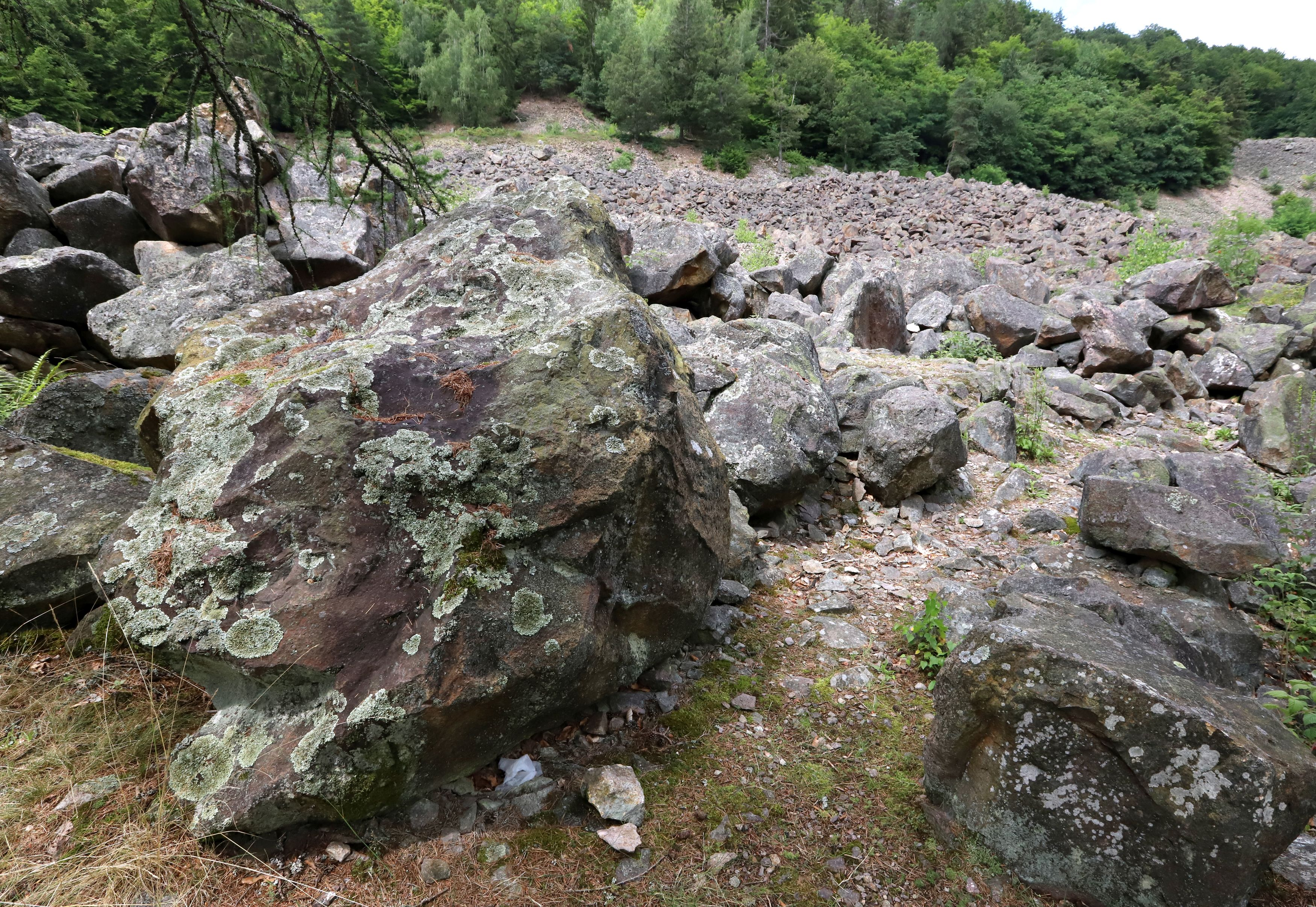 Kamenné more vo Vyhnianskej doline.