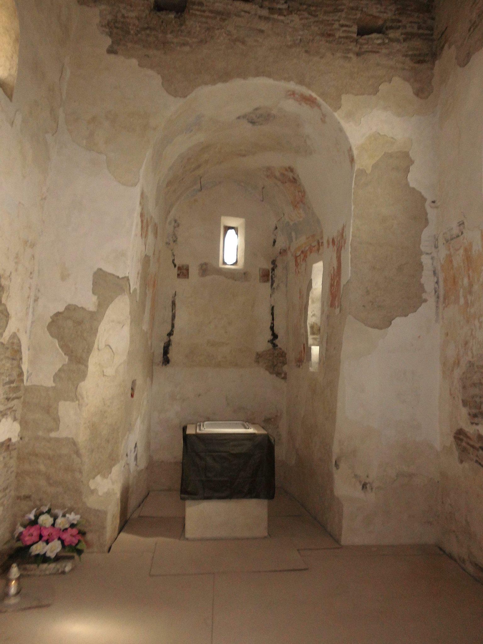Interiér Kostola sv. Margity Antiochijskej.