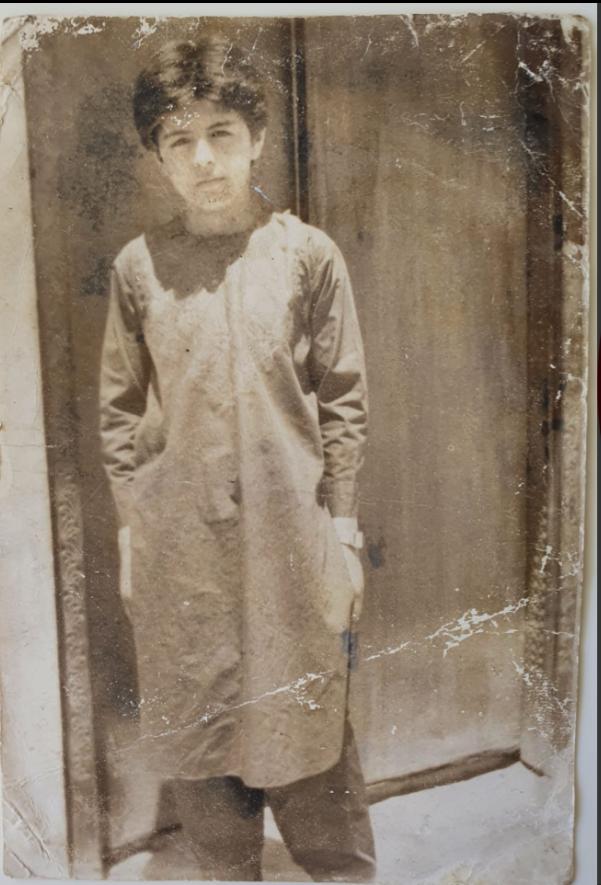 Waheed Arian ako dieťa v Afganistane.